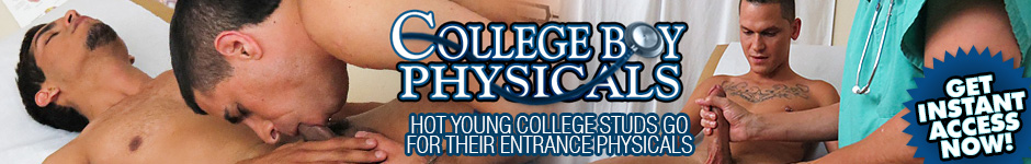 College Boys Physicals - Two Men Get A Physical By Doctor Threesome!