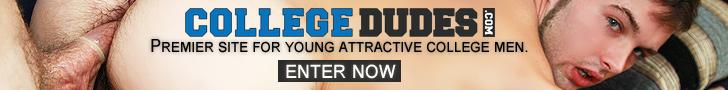 College Dudes - Caden Lyle Busts A Nut