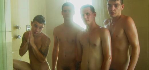 The Boys Take A Shower