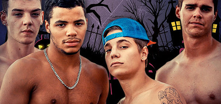 Halloween at Broke Straight Boys - Exclusive $1 Offer