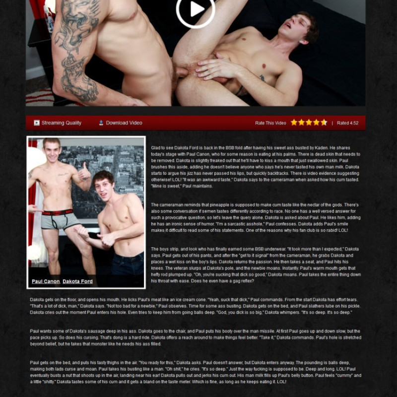 Broke Straight Boys Members Area Preview