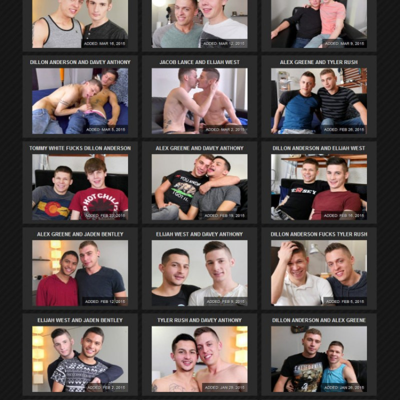 College Dudes Members Area Preview