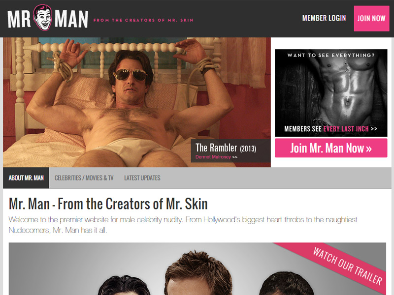 Mr Man Tour Screenshot