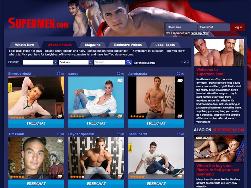 Super Men Tour Screenshot
